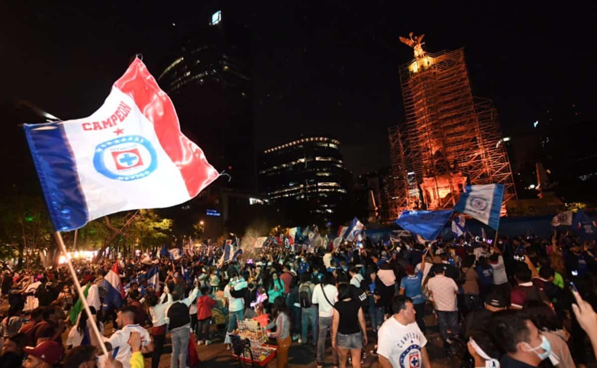Triunfo de Cruz Azul reunió a más de 80 mil personas: