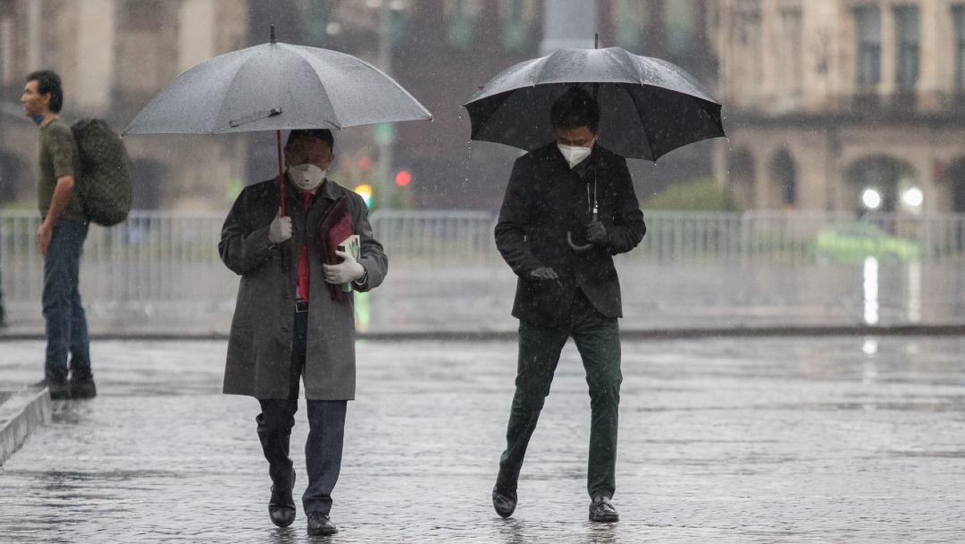 Se espera otra tarde de lluvia y granizo en CDMX