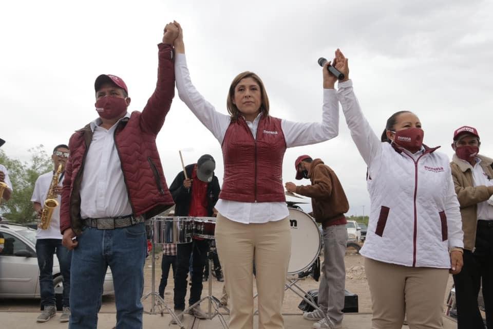 INE descarta ir en contra de Mónica Rangel