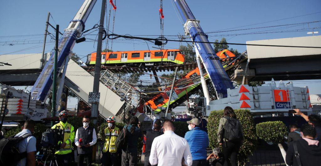 FGJ abre carpeta de investigación sobre el colapso de la Línea 12