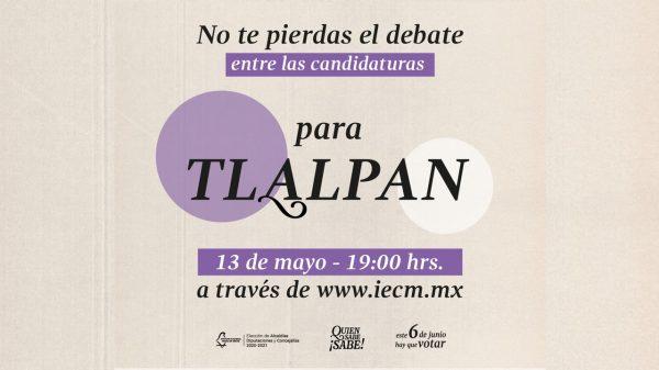 #DebateChilango: Sigue en directo el debate para la alcaldía Tlalpan
