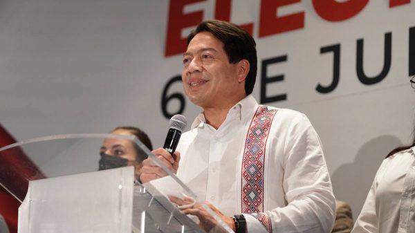 Morena, primera fuerza política del país: Mario Delgado