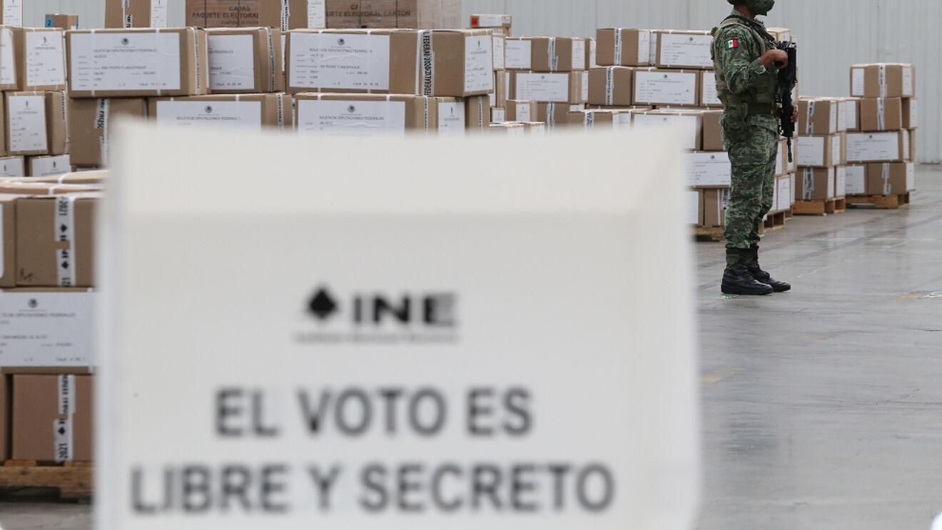 """FGJ de la CDMX presenta """"focos rojos"""" de la elección"""