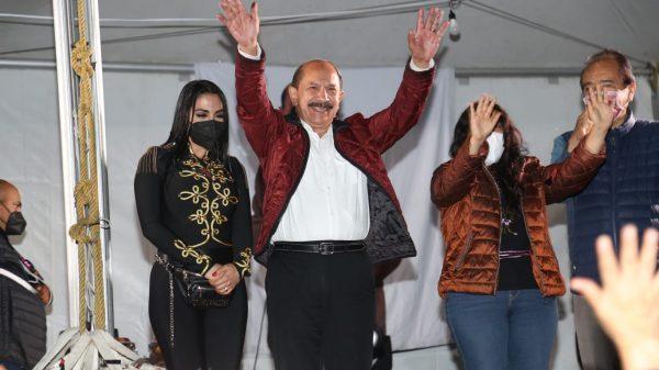 Armando Quintero el gran ganador en Iztacalco