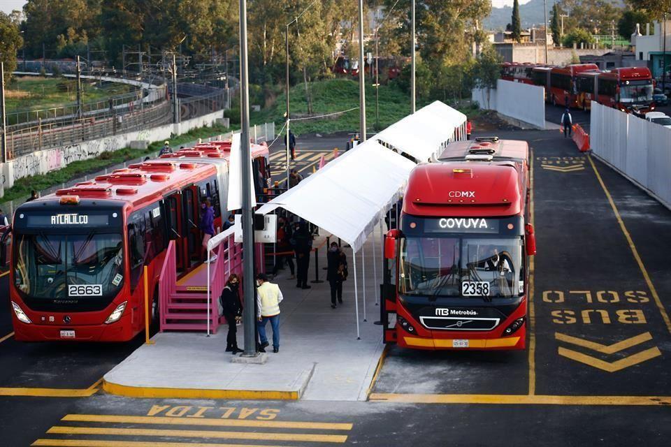 Inicia servicio de Metrobús temporal Tláhuac-Coyuya