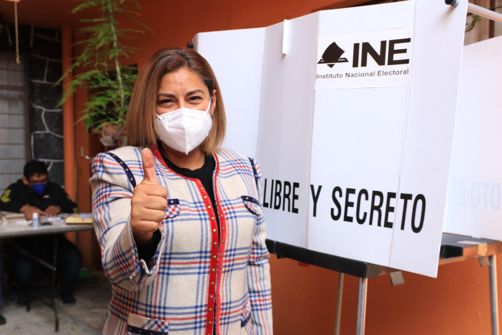 Alfa González toma ventaja en Tlalpan