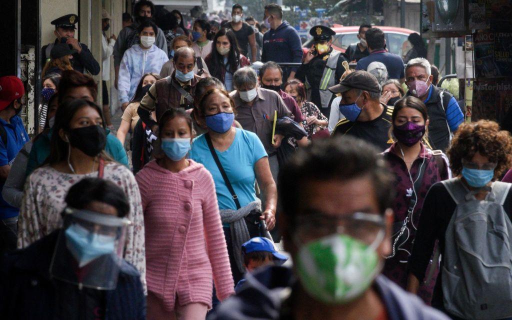 México acumula 232 mil 608 decesos por coronavirus