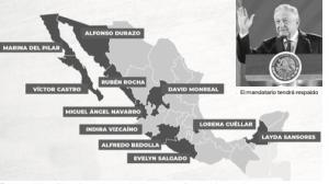 México con 18 gubernaturas pro 4T
