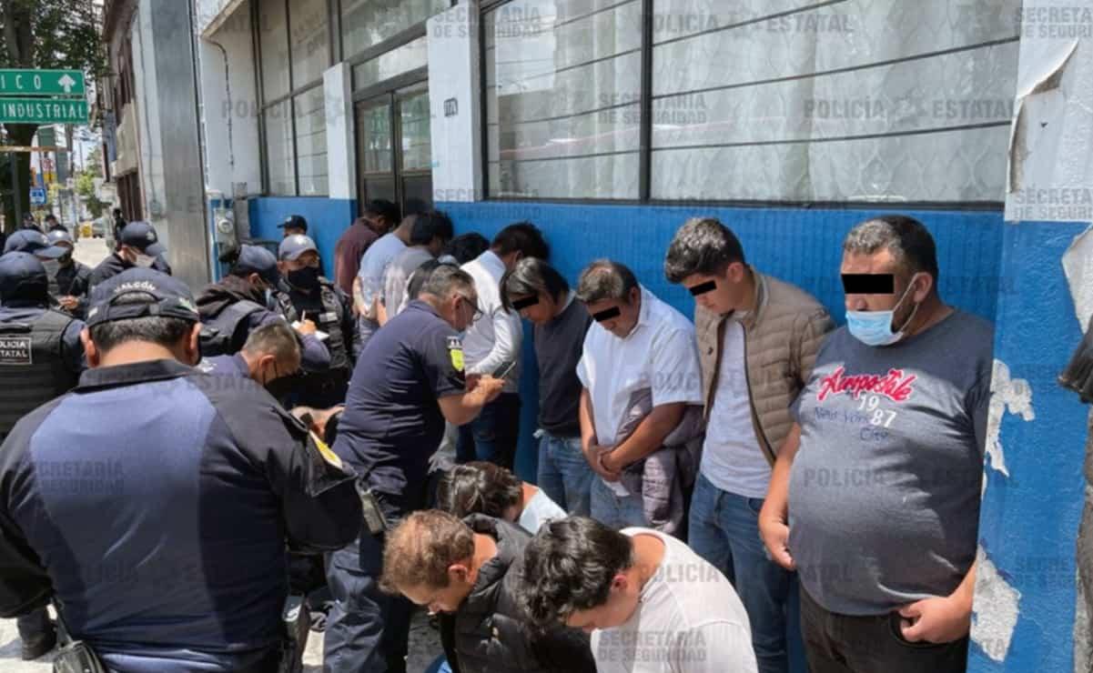 Detienen a 15 personas por agresiones a casillas en Metepec