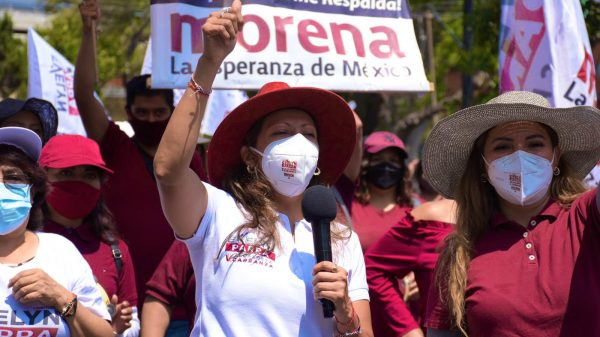 Evelyn Parra, sin acatar parte del registro electoral