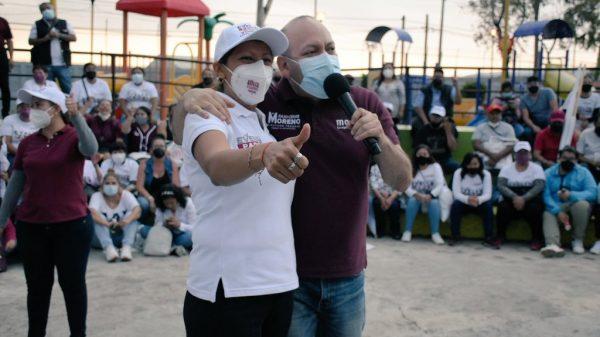 Julio Cesar Moreno y Evelyn Parra han trabajado de la mano