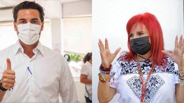 Layda Sansores y Christian Castro Bello, mantienen una férrea lucha por la entidad