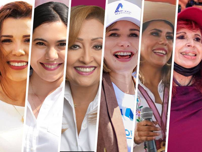 Mujeres ganan 6 de las 15 gubernaturas