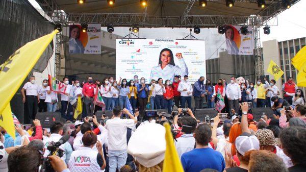Sandra Cuevas gana en la alcaldía Cuauhtémoc
