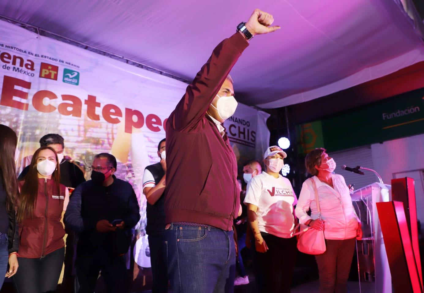 Fernando Vilchis gana Ecatepec