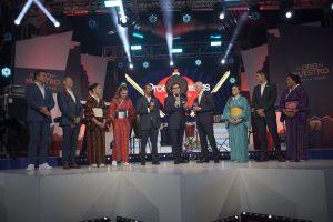 El oro es de Azteca, presentan a elenco que participara enTokio 2020. Foto: Miguel Díaz.
