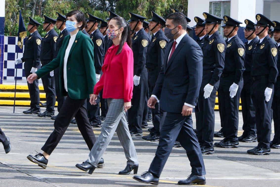 Se gradúan 243 cadetes para incorporarse a la policía de la CDMX