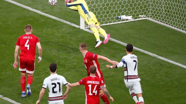 Portugal golea 3-0 a Hungría en la Eurocopa