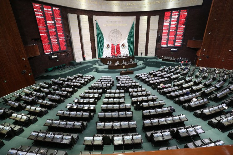 Nueva conformación de la Cámara de Diputados a favor de la 4T