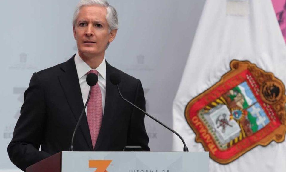 Alfredo Del Mazo sin respaldo en el Congreso