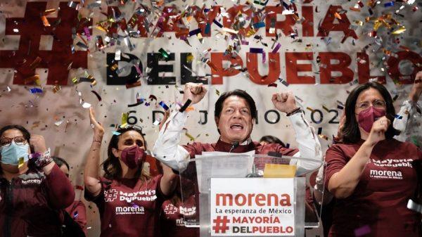 Morena domina en 11 estados de la República