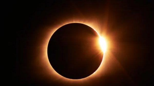 (Video) Así se vio el eclipse el amanecer del 10 de junio