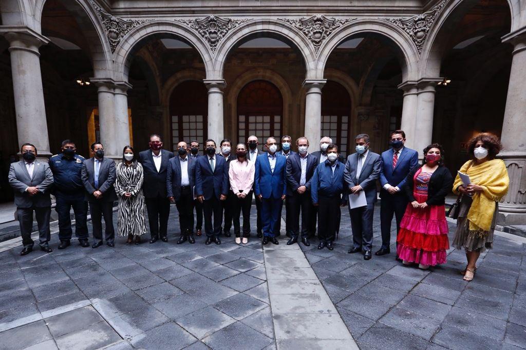 Previo al cambio, Claudia Sheinbaum mantuvo reunión con alcaldes de la CDMX