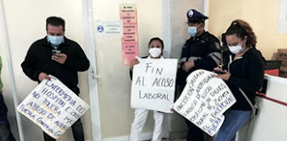 Exigen destituir a directora de hospital en Iztapalapa