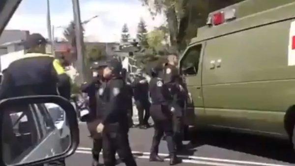 Militares atropellan a motociclista y lo dejan morir
