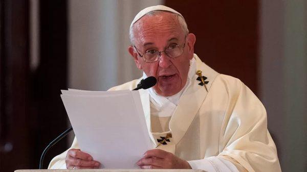 Papa Francisco envía carta a Aguililla
