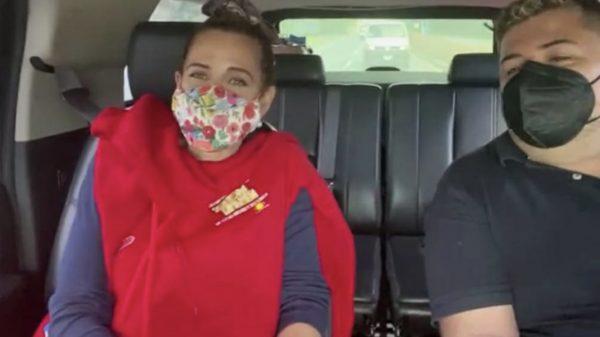 Raquel Bigorra y la Sonora Dinamita a punto de perder la vida en pleno vuelo