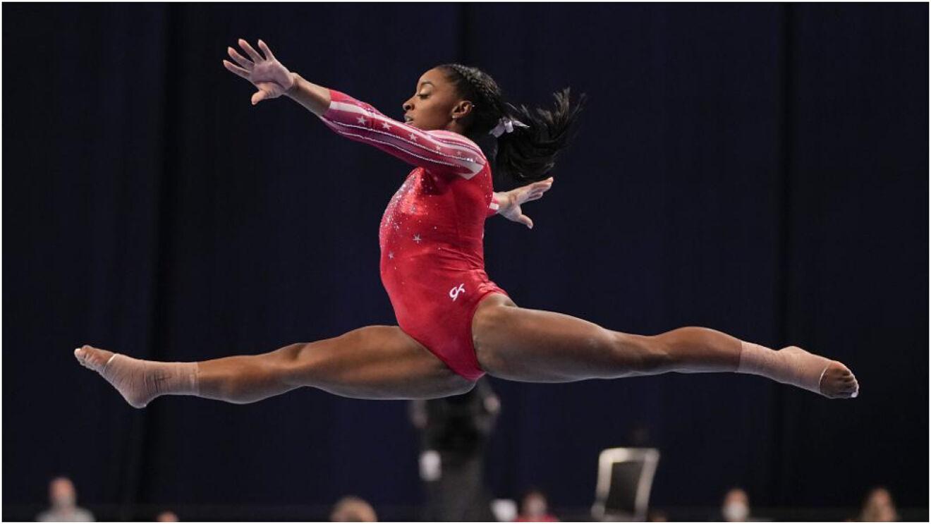 Simone Biles hace historia en los Juegos Olímpicos