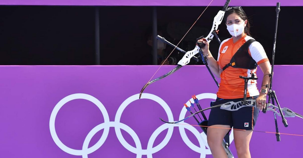 Mexicana Gabriela Bayardo gana plata para Holanda en Tokio 2020