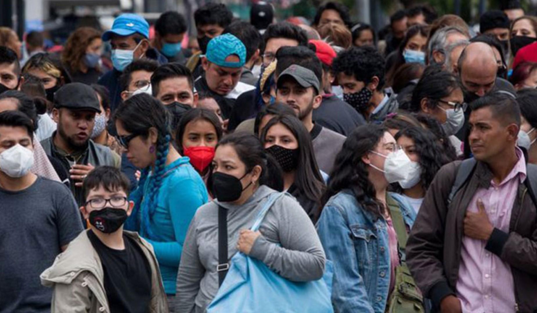 México registra más de 15 mil nuevos casos de COVID-19, la cifra más alta desde enero