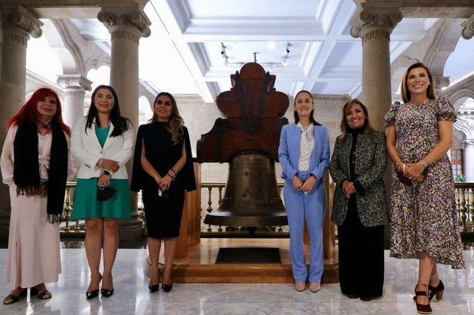 Se reúne Claudia Sheinbaum con gobernadoras electas de Morena