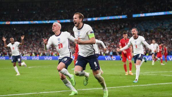 Inglaterra vence a Dinamarca y es finalista de la Euro 2020