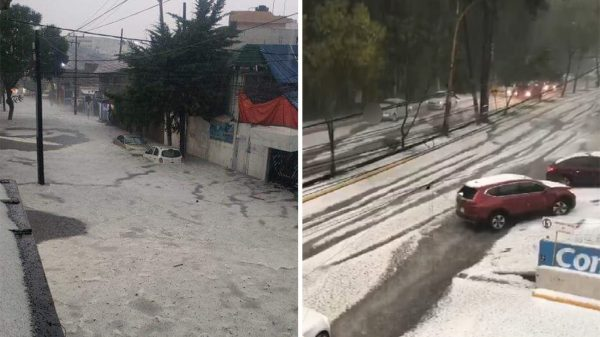 Fuertes lluvias provocan inundaciones en el Valle de México