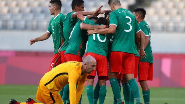 México golea 4-1 a Francia en su debut en Olímpicos de Tokio