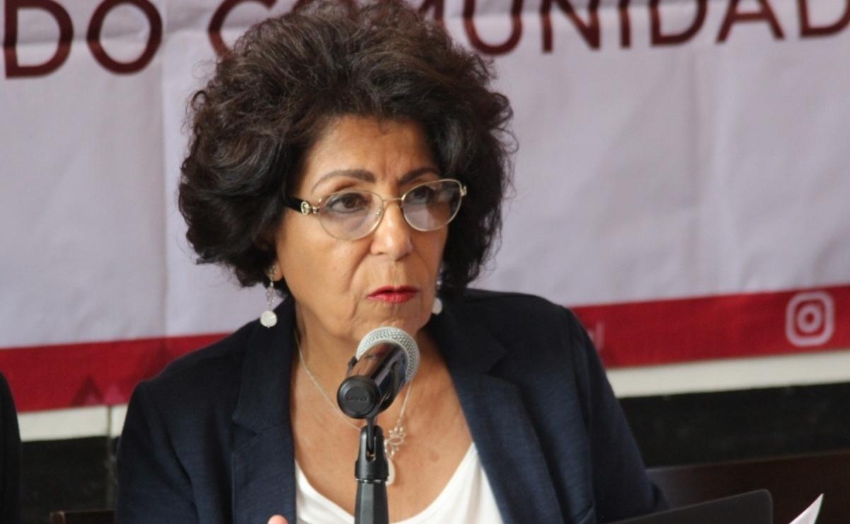 Patricia Aceves no quiere salir de Tlalpan