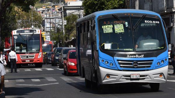 Suben tarifas al trasporte público en el Estado de México