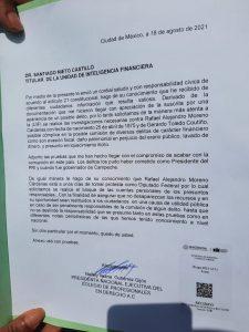 Nallely Gutierrez Guijón denuncia a Alito