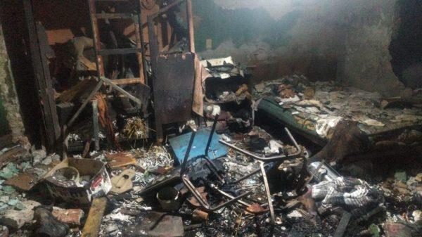 Explosión en Tultepec deja 2 heridos de gravedad
