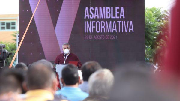 Alcalde de Ecatepec encabeza primera estructura a nivel nacional en apoyo a la ratificación de mandato de AMLO