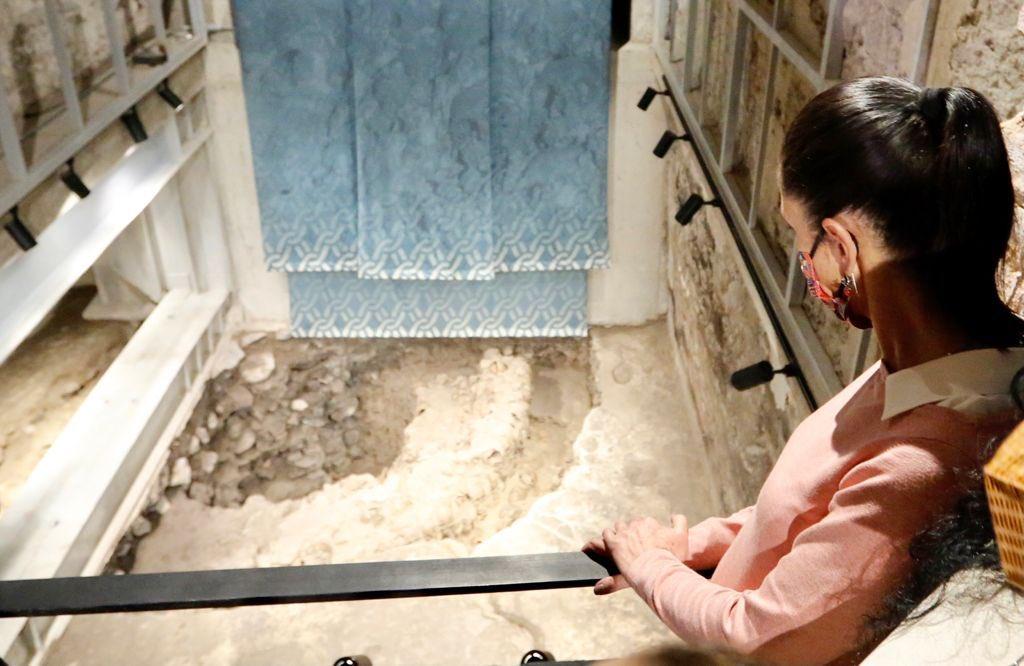 Abren al público exposición de ventanas arqueológicas