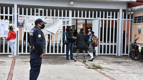 Más 8 mil policías vigilarán regreso a clases