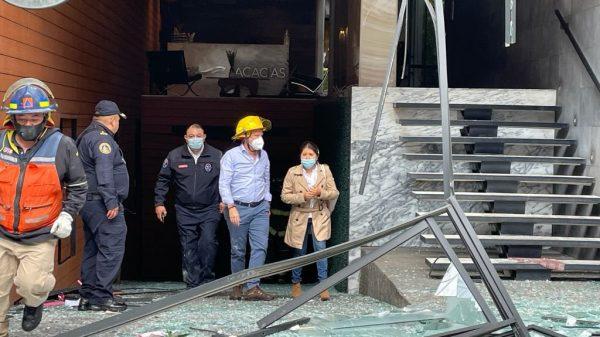 Santiago Taboada tendrá que rendir cuentas por estallido en edificio