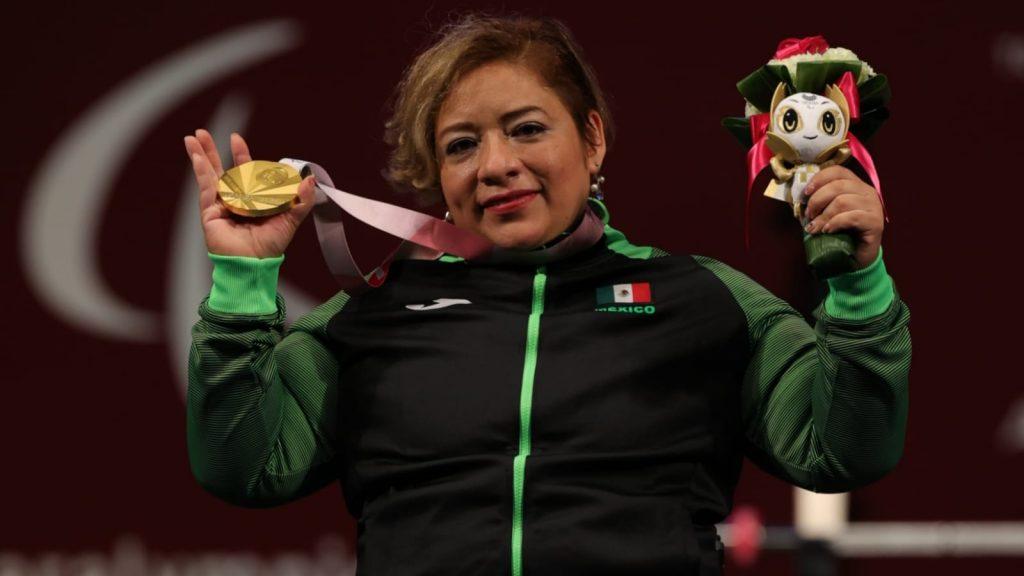 Amalia Pérez gana medalla de oro en los Juegos Paralímpicos