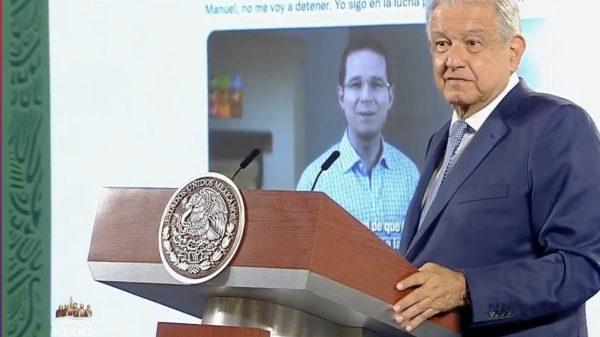 Es falso que haya una persecución contra Ricardo Anaya