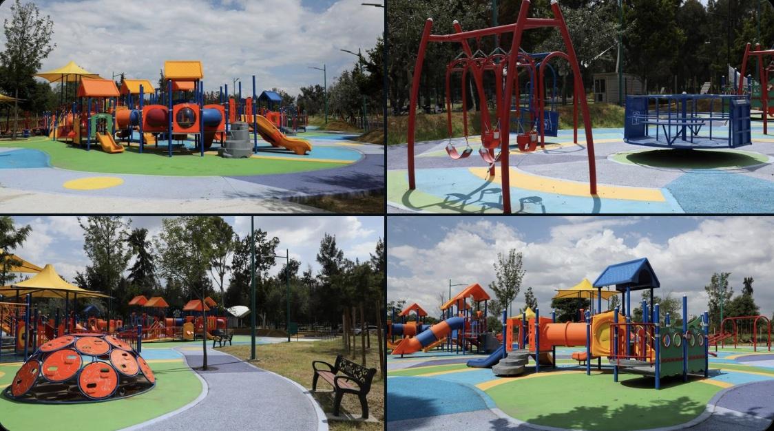 Habilita zona recreativa 100% incluyente en el Bosque de Aragón