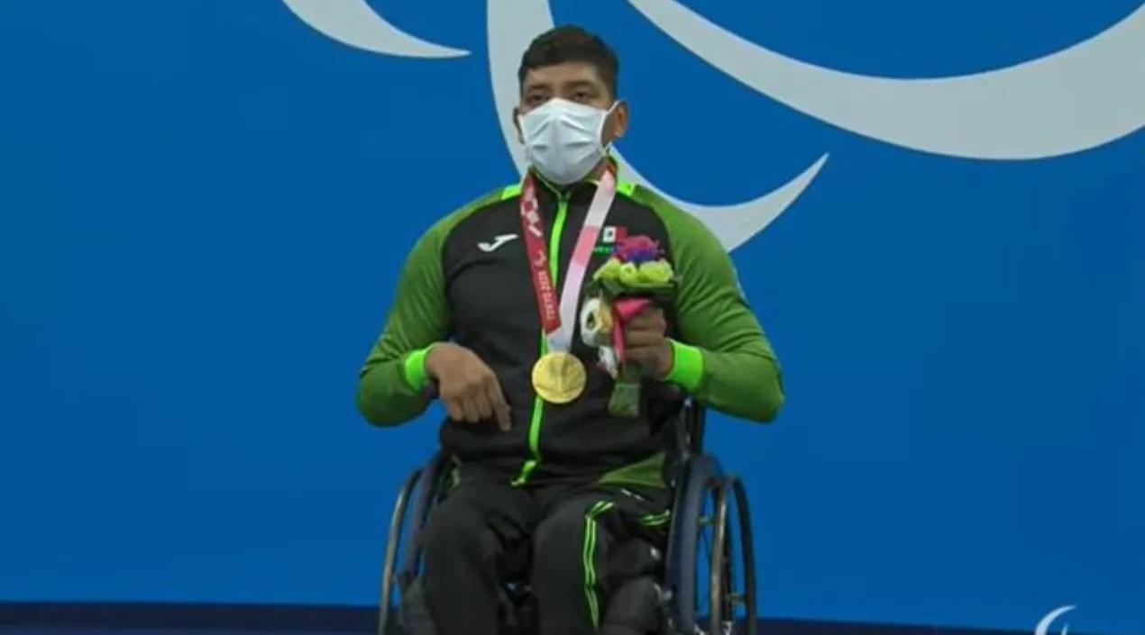 Jesús Hernández gana segundo Oro para México en los Juegos paralímpicos